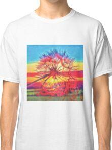 Dandelion sunset Classic T-Shirt