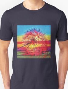 Dandelion sunset Unisex T-Shirt