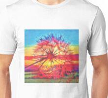 Dandelion sunset Unisex T-Shirt