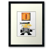 Old Mario Framed Print