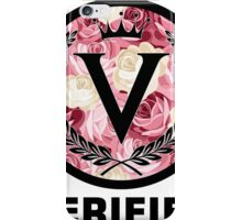 Verified Floral iPhone Case/Skin