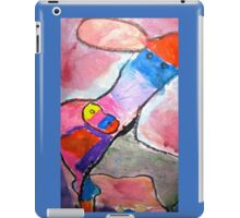 Water Color Cow iPad Case/Skin