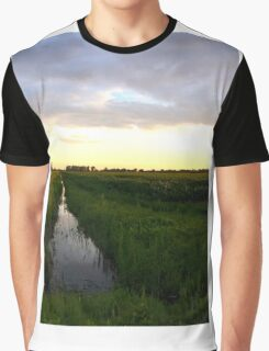 Riverside at St-Amable Graphic T-Shirt
