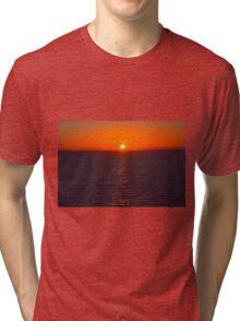 The Perfect Sunset  Tri-blend T-Shirt