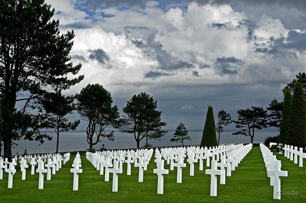 American Cemetery at Normandy by cclaude