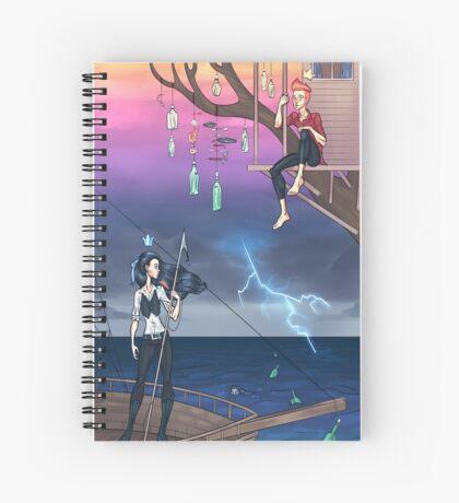 Don't Sink Spiral Notebook