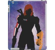 Mass Effect - Fem Shep Minimal  iPad Case/Skin