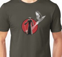 Plague Doctor and Apparition Unisex T-Shirt