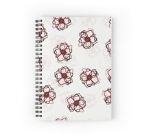 shadowy flowers Spiral Notebook