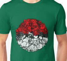 Pokeball with thousand pokemons Unisex T-Shirt