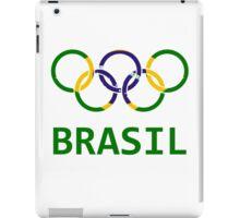 Brasil Olympic iPad Case/Skin