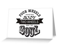 Bikers Quote Greeting Card