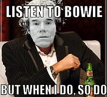 Andy Warhol doesn't like the David Bowie song 'Andy Warhol'! by Joshua Bell