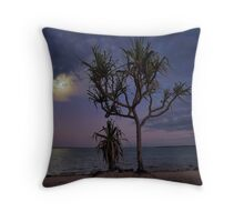 Pandanus Moonrise Throw Pillow