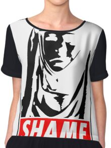 Game of Thrones - SHAME Chiffon Top