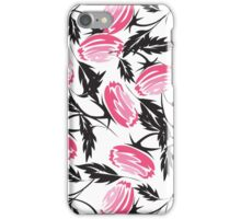 Nice Abstract Roses Print iPhone Case/Skin