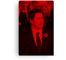 Justin Trudeau - Celebrity Canvas Print