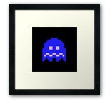 Scared Ghost  Framed Print