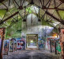 Brenton Point Stables Abandoned 5 by Joshua McDonough