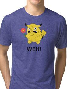 Pikachu WEH! Tri-blend T-Shirt