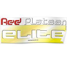 RED Platoon ELITE Poster