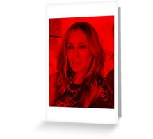 Sarah Jessica Parker - Celebrity Greeting Card