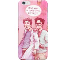 cloudy with a chance of uh-oh iPhone Case/Skin