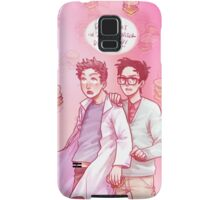 cloudy with a chance of uh-oh Samsung Galaxy Case/Skin