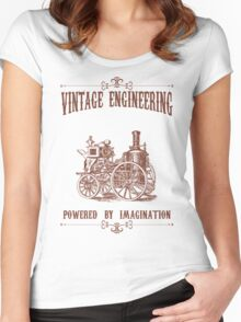 Vintage Engineering Women's Fitted Scoop T-Shirt