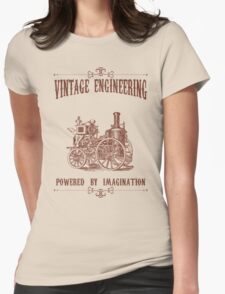 Vintage Engineering Womens Fitted T-Shirt