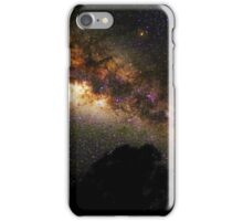 Milky Way Galaxy and Tree iPhone Case/Skin