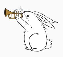 Horn Bunny One Piece - Long Sleeve