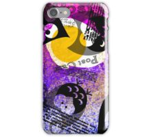 Moon egg and owls iPhone Case/Skin