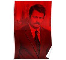 Ron swanson -  Celebrity Poster
