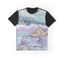 Paper ships Graphic T-Shirt
