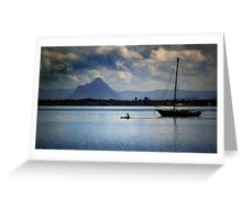 Paddle fast Greeting Card