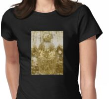 Decorative Pillow-Gilded Womens Fitted T-Shirt
