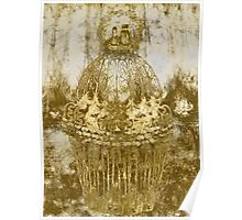 Decorative Pillow-Gilded Poster