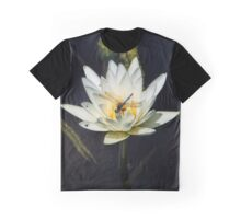 Dragon Fly on Lily Graphic T-Shirt