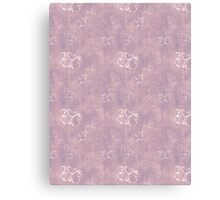 Lilac and White Butterflies  Canvas Print