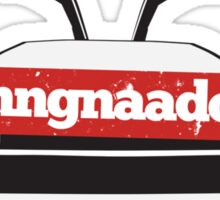 DeLorean Doors Ugnnnngnadaoooors Sticker