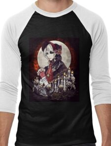 Bloodborne: Doll Men's Baseball ¾ T-Shirt