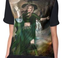 The Witching Hour Chiffon Top