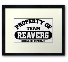 Team Reikland Reavers Framed Print
