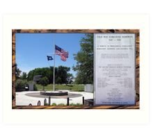 Cold War Submarine Memorial, Patriots Point [Charleston], SC Art Print