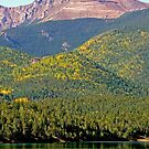 Pikes Peak, Colorado, USA by Margaret  Hyde