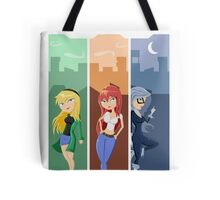 Spiderman girls Tote Bag