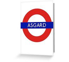 Fandom Tube- ASGARD Greeting Card