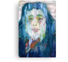 OSCAR WILDE - oil portrait Canvas Print