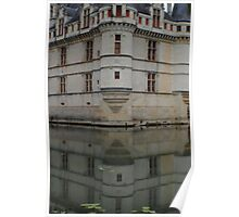 Château d'Azay-le-Rideau, La Loire, France Poster